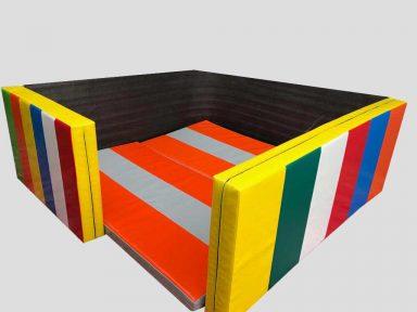 Jimnastik Minderleri Duvar Kosesi 2x2 Metre